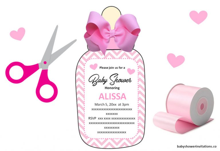 Printable Baby Bottles Invitations