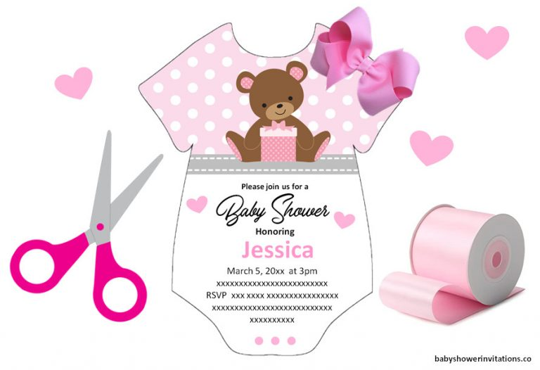 Printable free baby shower Templates