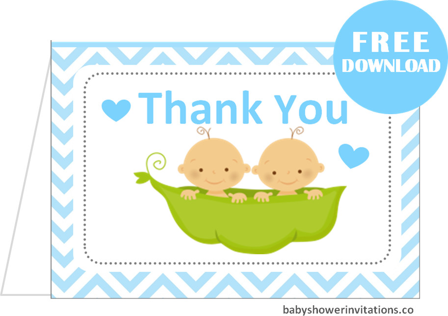 Baby Thank you Note Card  Baby Romper Thank you note Grey and Pink  Instant Download  PRINTABLE  1956