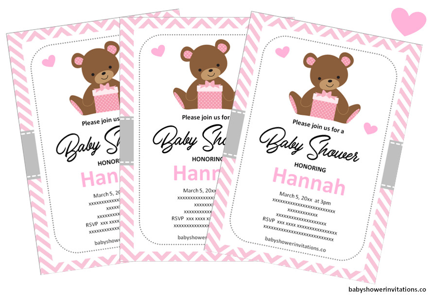 How can I make my own Baby Shower Invitations for Free